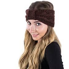 wide headbands winter headband for women knitted headwrap wide warm headbands