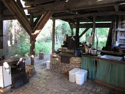 rustic outdoor kitchen ideas a rustic summer canning kitchen home decor diy