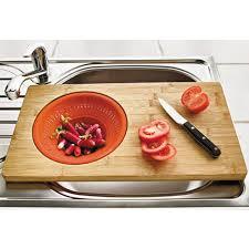 planche à découper cuisine sedao vente cuisine planche à découper avec égouttoir