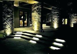 In Ground Landscape Lighting In Ground Landscape Lighting Vista Volt Led Aluminum Area Light