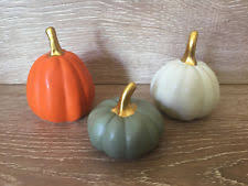 ceramic pumpkins ceramic pumpkin ebay