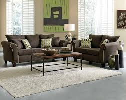 Lime Green Sofa by Brown Couch Set Lime Green Accents Felix Chocolate Sofa