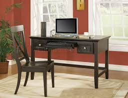 furniture very minimal black home office desk design with black