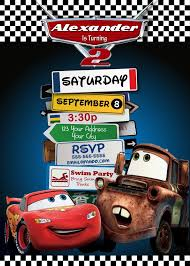 birthday invites awesome cars birthday invitations design ideas
