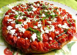 cuisiner les tomates cerises recette de tarte aux tomates cerises et féta la recette facile