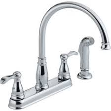 Kitchen Faucets At Menards by 59 99 Menards Tuscany Volo Chrome Two Wing Handle High Arc