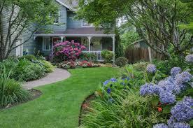 Landscape Ideas For Backyards 35 Hydrangea Garden Ideas Pictures