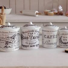 blue french script kitchen canister set j http avhts com