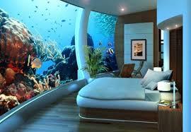 chambre aquarium acqua agua aquarium bed bedroom chambre image 55928 on favim com