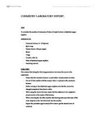 ib lab report template chemistry lab report aim to calculate the number of molecules of