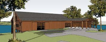 historic eureka barn could get new life as community center a computer generated model shows what a new eureka community center on the shore