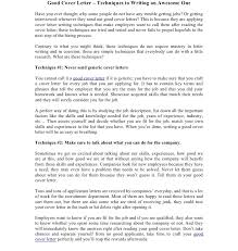amazing cover letters examples outstanding cover letter examples