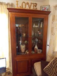 cherry wood china cabinet cherry wood display cabinet in ashford kent gumtree