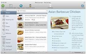 logiciel recette cuisine gratuit macgourmet 4 synchronise ses recettes avec l iphone macgeneration