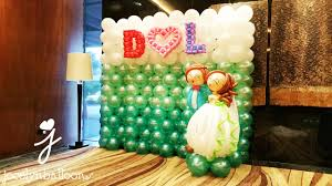 wedding backdrop size wedding balloon decorations jocelynballoons the leading