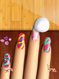 glow nails manicure nail salon game for girls android apps on