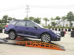 subaru outback lifted off road subaru bares all new legacy outback for asian market motioncars