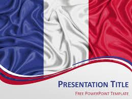 france flag powerpoint template presentationgo com