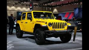 2018 jeep wrangler rubicon 2018 jeep wrangler jl rubicon four door first look youtube