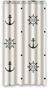 Nautical Anchor Shower Curtain Nautical Shower Curtains Shower Curtains Outlet