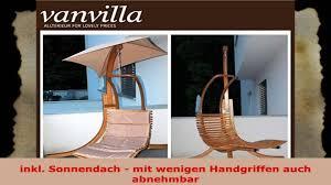 Designer Hangesessel Mit Gestell Vanvilla Hängesessel Mit Gestell Aus Lärche Negros 200cm X 200cm