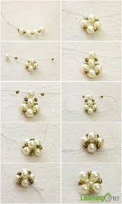 make stud earrings how do you make handmade pearl stud earrings step by step