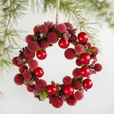 berry wreath berry wreath ornament world market