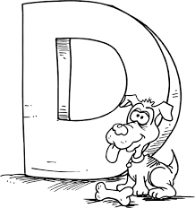 alphabet coloring pages printable letter d coloring pages 01 meglátogatandó helyek pinterest