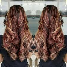 mahogany red hair with high lights best 25 burgundy blonde hair ideas on pinterest fall hair