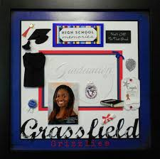 graduation memory box grassfield high school custom made graduation memory album page