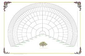 family tree fan chart template 17 best family tree part three