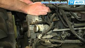 how to install replace engine alternator 4 6l v8 2002 10 ford