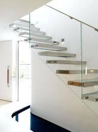 Modern Glass Stairs Design Modern Glass Balcony Railings Interior Wood Glass Railings
