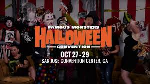 famous monsters of filmland halloween convention san jose october