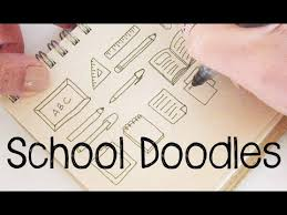 doodle with school doodles doodle for doodle with me