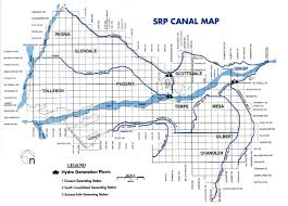 Mesa Arizona Map by History Adventuring Ancient Historic And Modern Canals Of