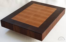 decor hand made cutting board solid walnut butcher block for