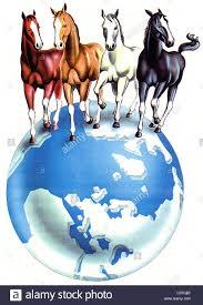 World Globe Map 4 Horses On Globe Earth Globe Geography Globe Globe World Map Map
