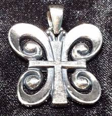 avery crosses avery resurrection butterfly cross pendant 925 sterling