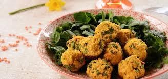 cuisiner epinard falafels aux lentilles corail et épinards vegan au fil du thym
