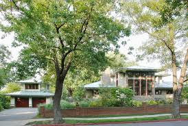 frank lloyd wright inspired prairie house in annapolis pursuitist