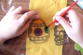 Easter Window Decorations To Make by Easter Crafting With Poundland Emma Plus Three