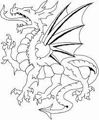 perfect coloring page dragon 10 3201