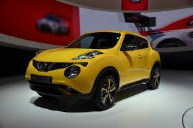 nissan juke yellow spoiler 2015 nissan juke unveiled in geneva live photo gallery