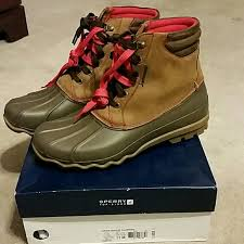 womens sperry duck boots size 11 27 sperry other sperry avenue duck boots s size 11