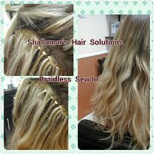 sewn in hair extensions 28 best braidless sew in hair extensions orlando images on