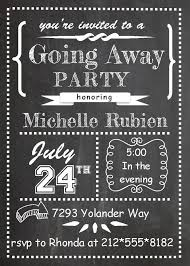 farewell party invitation best 25 going away party invitations ideas on moving
