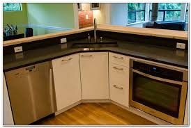 Corner Sink Kitchen Best  Corner Kitchen Sinks Ideas On - Corner sink kitchen cabinets