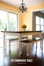 Design Your Own Kitchen Table 7 Diy Farmhouse Tables With Free Plans