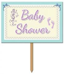 baby shower banners baby shower signs